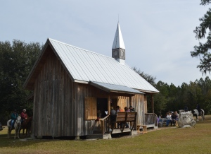 cowboy church (I'm on the far right)
