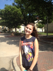 Rachel at TCU