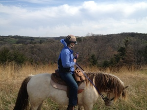 Brenda & Snowy (owner of Turkey Creek Ranch Horsecamp)
