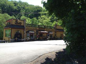 the Woodstock Inn, beer break