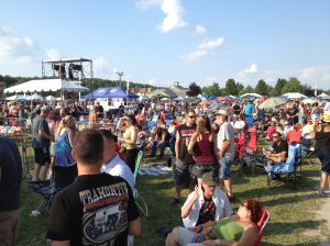 Rock & Ribs at the fairgrounds
