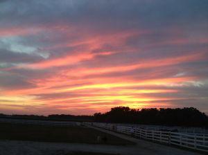 Ohio sunset