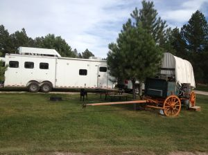 Broken Arrow Horse Camp, my rig at site #12